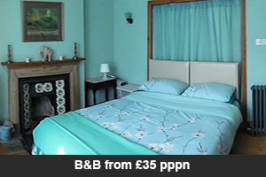 B&B from £35 pppn