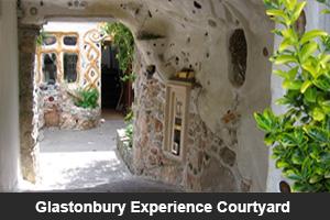 Glastonbury Experience Courtyard