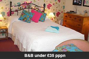 B&B under £35 pppn