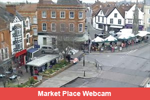 Glastonbury Market Place Webcam