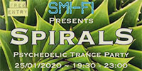 Spirals - Psychedelic Trance Party @ King Arthur