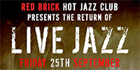 The Return Of Live Jazz! @ Red Brick Building