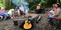 Woodland Fire Folk Sing Around @ Paddington Farm