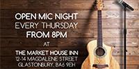 Open Mic Night @ Market House Inn